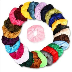 26 Scrunchies with elastic